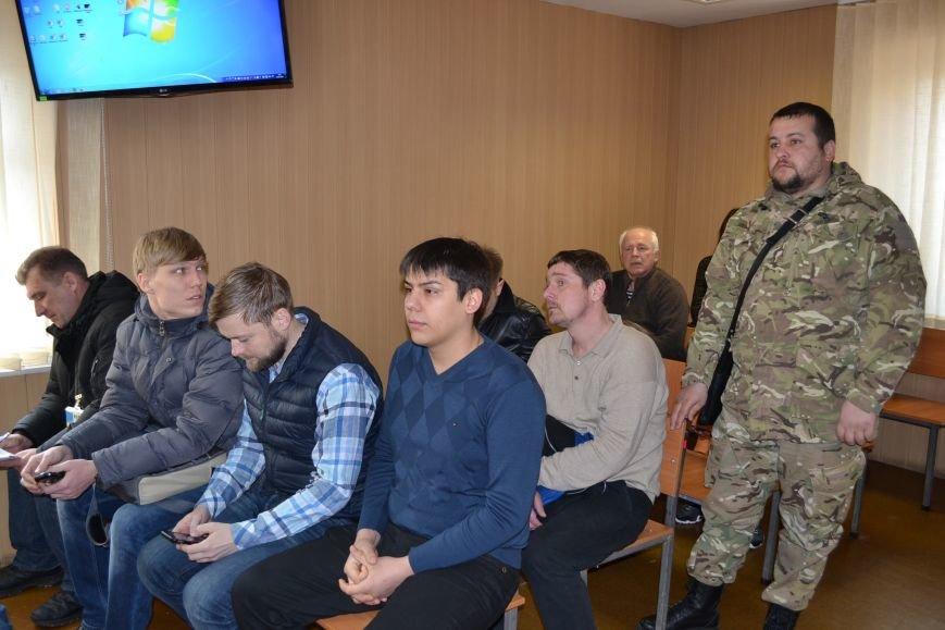 В деле экс-транспортного прокурора Кривого Рога  против активистов Долгинцевский суд удалился на перерыв до 31 марта (ФОТО), фото-2