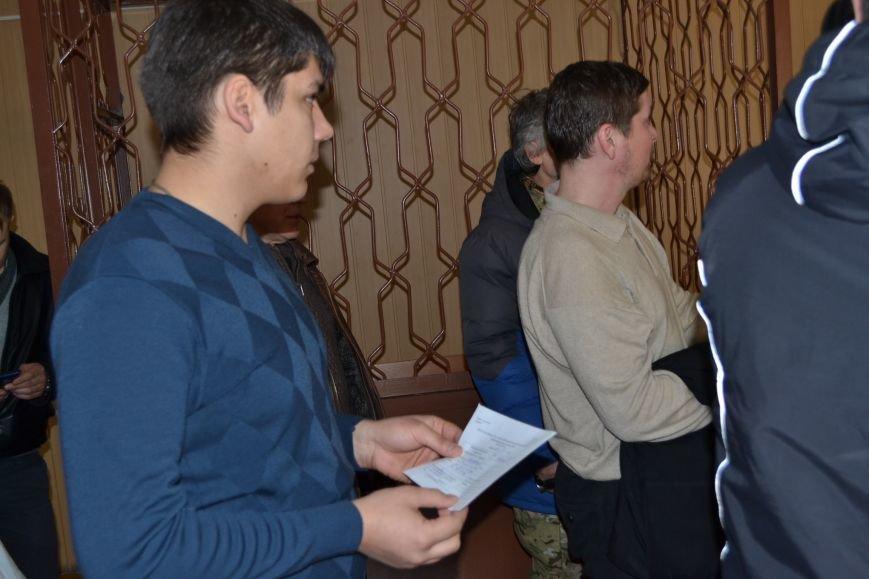 В деле экс-транспортного прокурора Кривого Рога  против активистов Долгинцевский суд удалился на перерыв до 31 марта (ФОТО), фото-7