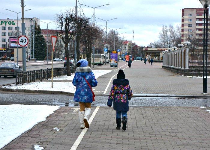 Дети, старики и голуби. Как Новополоцк встретил астрономическую весну, фото-15
