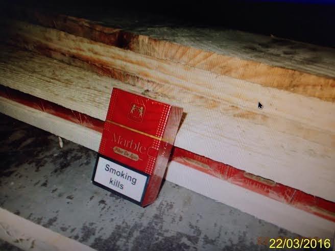 На українсько-польському кордоні затримали близько 100 тис.пачок цигарок (ФОТО), фото-9
