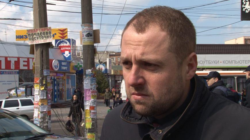 В центре Днепропетровска убрали аварийный столб (ФОТО) (фото) - фото 1