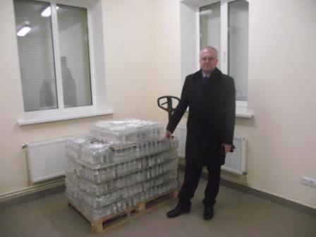 """Міська влада відвідала з робочим візитом ТОВ """"Юнік Фарма"""" (фото) - фото 1"""