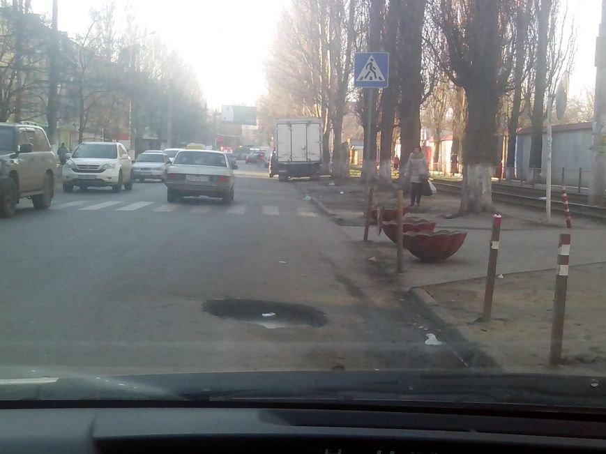 Успей объехать: Десятка самых опасных ям на одесских дорогах (ФОТО) (фото) - фото 4