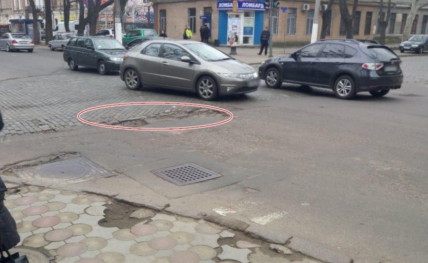 Успей объехать: Десятка самых опасных ям на одесских дорогах (ФОТО) (фото) - фото 9