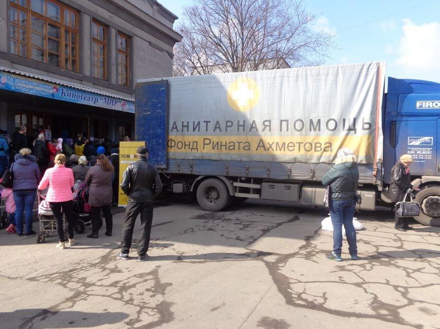 В Красноармейске стартовала выдача гуманитарной помощи для переселенцев (фото) - фото 7
