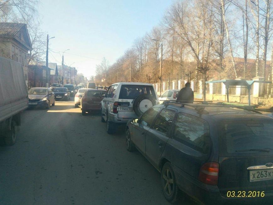 На улице Спартака в Твери столкнулись четыре автомобиля (фото) - фото 2