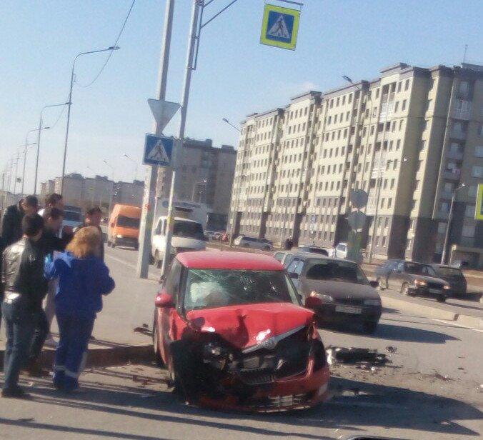 Две серьезные автомобильные аварии произошли в Пушкинском районе (фото) - фото 2