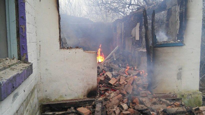Кілька пожеж на Білоцерківщині – за один день (фото) (фото) - фото 1