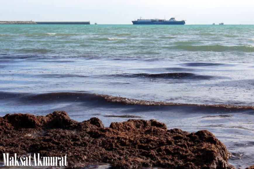Войлочный пляж в Актау, фото-6