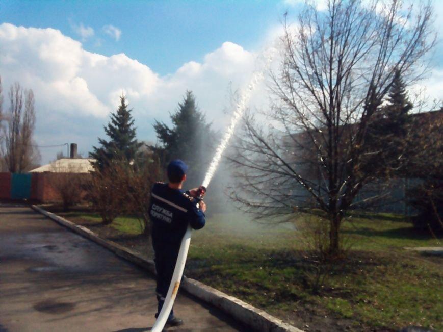 В Красноармейске (Покровске) появилось пожарное авто нового поколения, фото-5