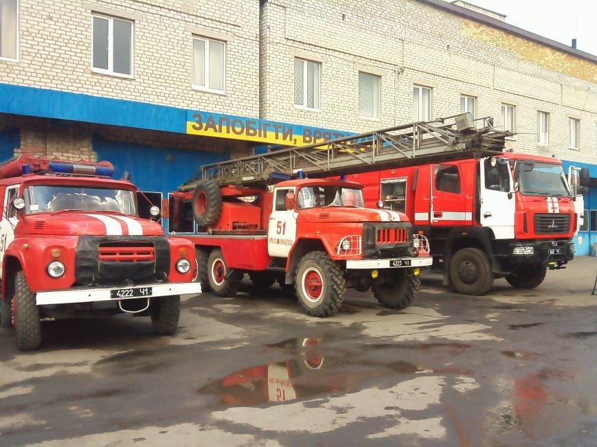 В Красноармейске (Покровске) появилось пожарное авто нового поколения, фото-4