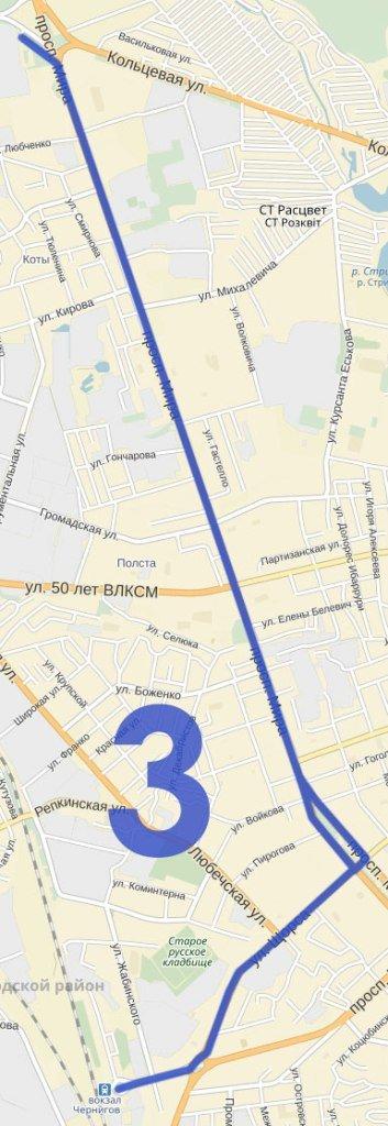 Как планируют поменять троллейбусные маршруты в Чернигове (фото) - фото 3