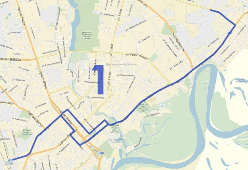 Как планируют поменять троллейбусные маршруты в Чернигове (фото) - фото 1
