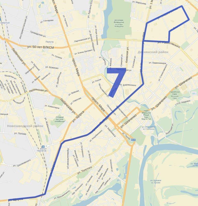 Как планируют поменять троллейбусные маршруты в Чернигове (фото) - фото 7