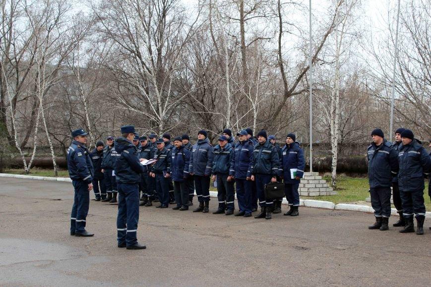 В Северодонецке прошли учебные сборы с руководящим составом подразделений ГУ ГСЧС в Луганском регионе (ФОТО) (фото) - фото 1