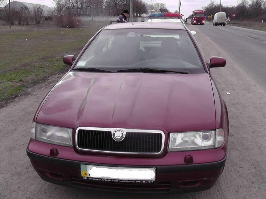 На Кіровоградщині працівники поліції виявили автомобіль - «двійник». ФОТО (фото) - фото 1