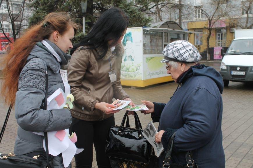 В Бахмуте прошла акция ко Дню борьбы с туберкулезом (ФОТО), фото-3