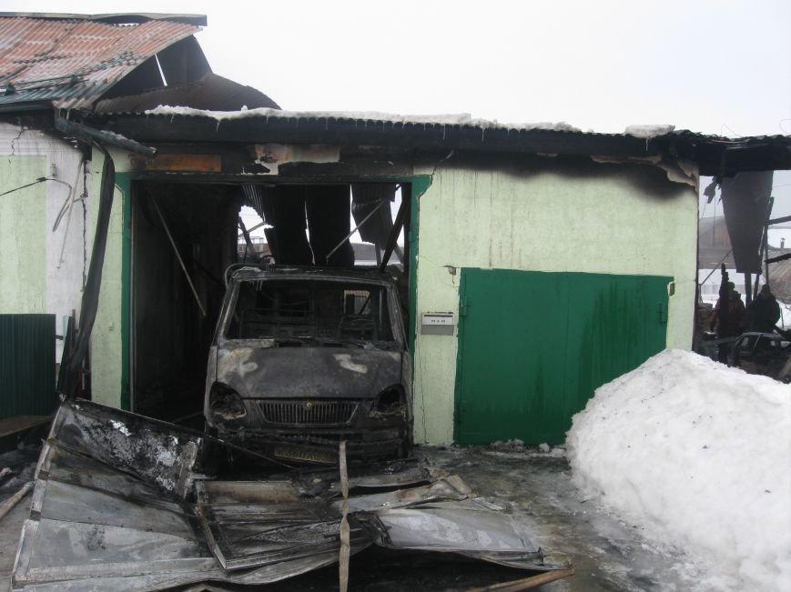 В Северском сгорели два дома (фото), фото-2