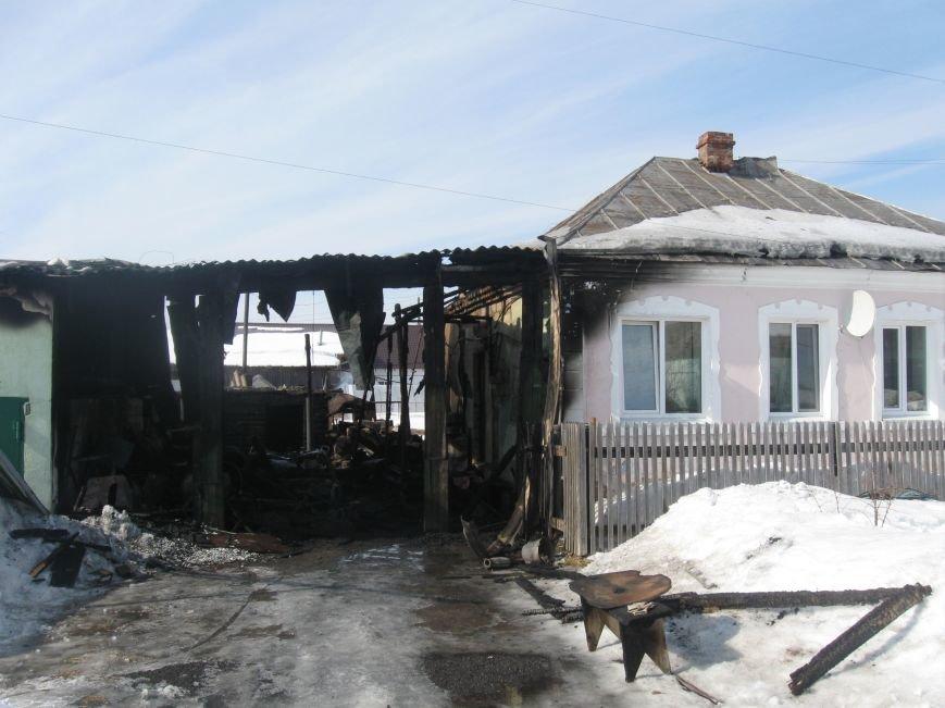 В Северском сгорели два дома (фото), фото-4