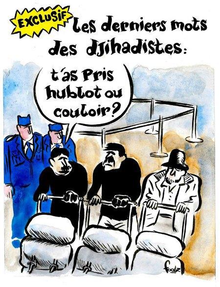 Charlie Hebdo опубликовал карикатуры на теракты в Брюсселе (фото) - фото 2