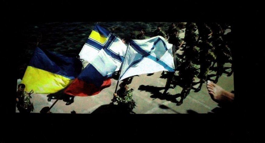 beaf2e97820c3f0f8cba8287b642ad6e На премьере фильма «Крим: як це було» плакали одесситы и военные моряки