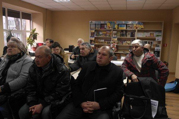 В Димитрове (Мирнограде) обсудили инструменты влияния на местную власть, , вопреки возражениям самих властей (фото) - фото 1