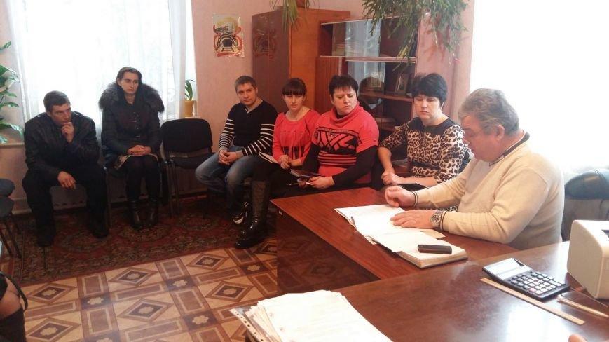Красноармейский (покровский) ГЦЗ наладил тесную связь с Удачненским сельским советом (фото) - фото 2