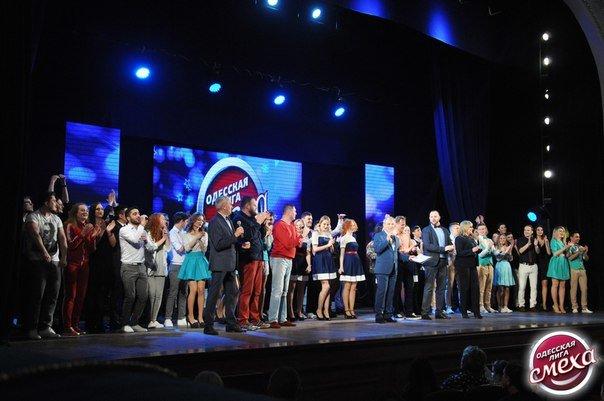 Женская сборная СумГУ прошла в сезон «Одесской Лиги Смеха» (ФОТО) (фото) - фото 1