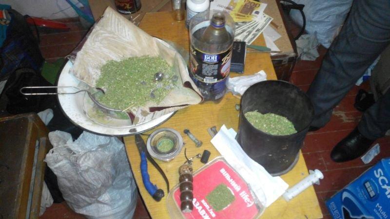 Полиция Краматорска изъяла килограмм наркотиков (фото) - фото 1