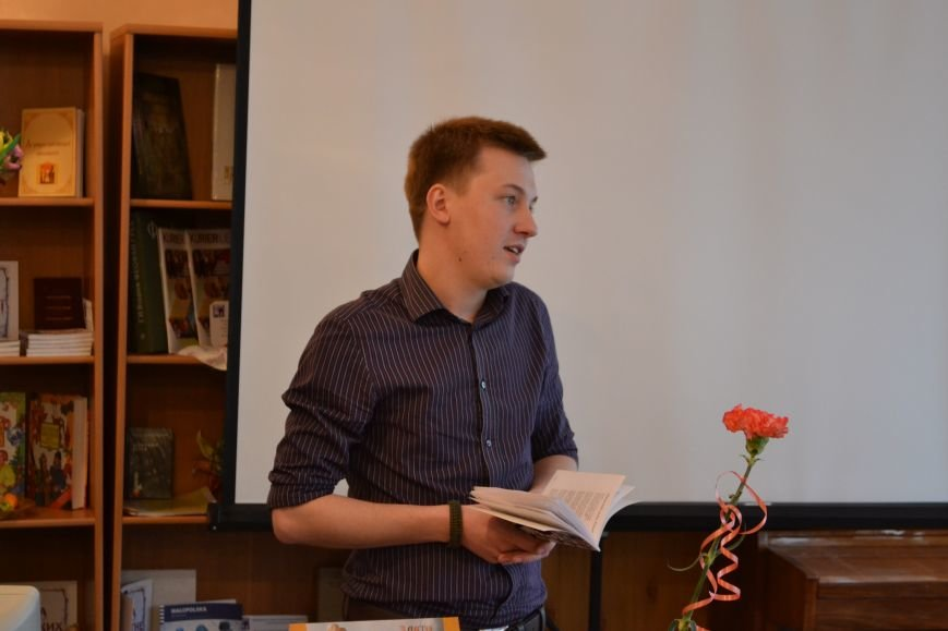 Днепропетровский поэт Владислав Малицкий представил в Днепродзержинске свою дебютную книгу, фото-4