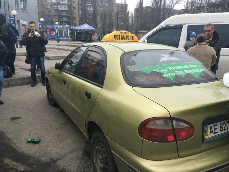 За замечание о агитации на машине такси