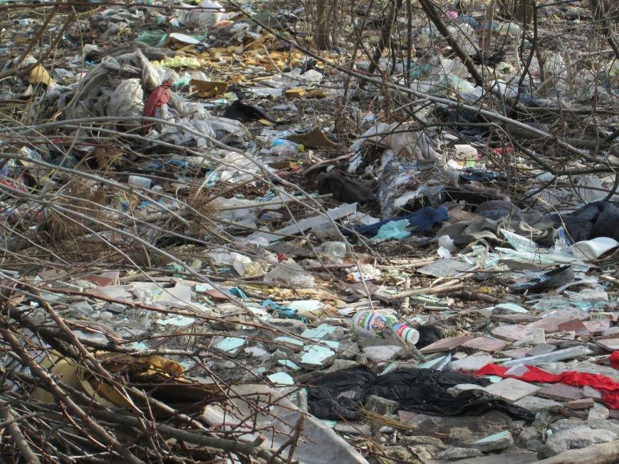5d354e4fc48ea72b635005777505a419 Возле одесской школы местные жильцы устроили свалку мусорных отходов