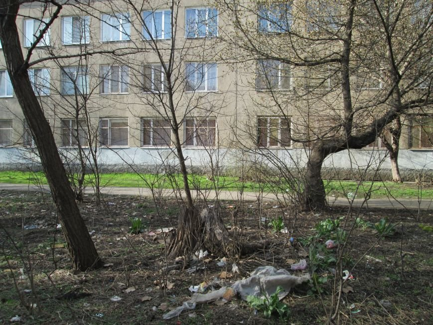 c8ef57e5f58bd6760a576c805e09fa9d Возле одесской школы местные жильцы устроили свалку мусорных отходов