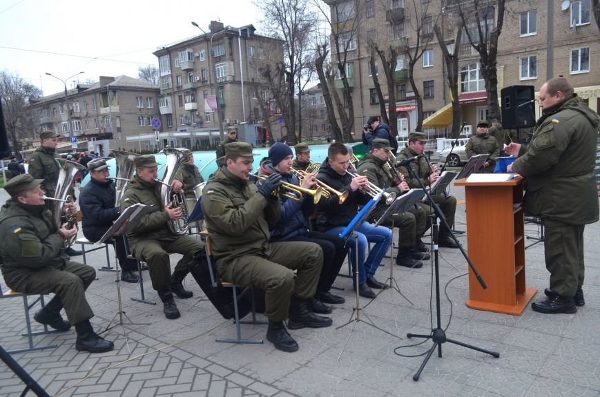 Вторую годовщину со дня создания Нацгвардии в Запорожье отметили с оркестром, - ФОТОРЕПОРТАЖ (фото) - фото 1