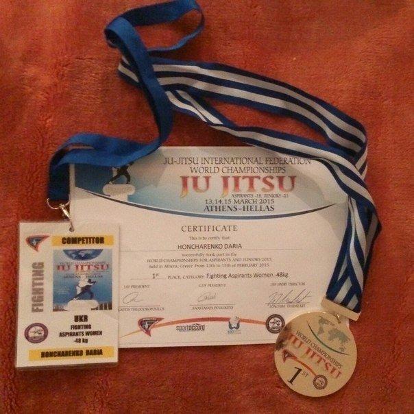 Школьница из Кривого Рога в Испании стала трехкратной чемпионкой мира по джиу-джитсу (ФОТО) (фото) - фото 3