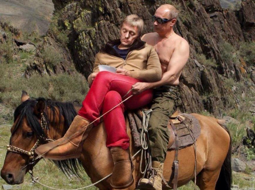 Макеевчане, а вы видели? Алые штаны пресс-секретаря президента РФ взорвали интернет (фото) - фото 3