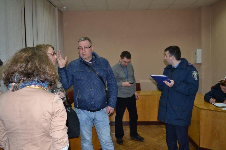 На заседание горизбиркома Кривого Рога вызван наряд полиции: за членами комиссии установили видеонаблюдение (ФОТО), фото-6