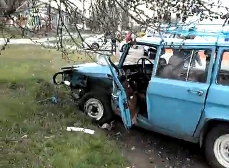 На одесской Слободке произошла лобовая авария (ФОТО) (фото) - фото 1