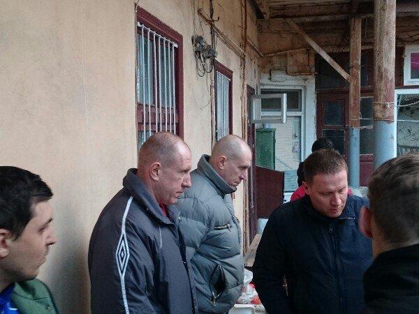 """3abbcfe2c0fff3ae655bc724d4b9476c """"Правый сектор"""" в Одессе предотвратил рейдерский захват"""