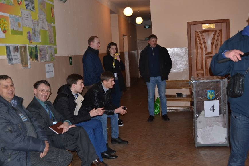 На избирательных участках Кривого Рога готовятся к подведению итогов голосования (ФОТО), фото-11