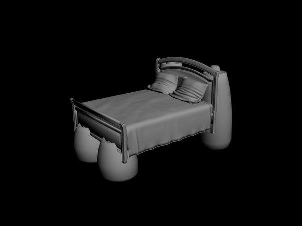 Дети из Пушкинского района создали 3D-кита и оживили космическую кровать (фото) - фото 1
