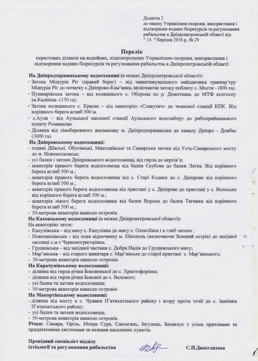 В Днепродзержинске введут запрет на ловлю рыбы (фото) - фото 4