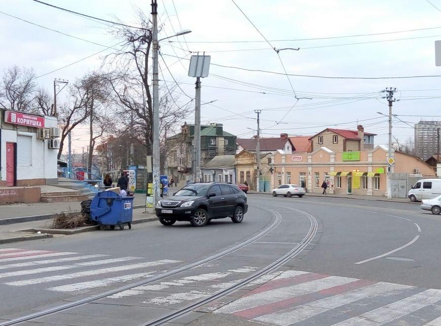 В Одессе Лексус с