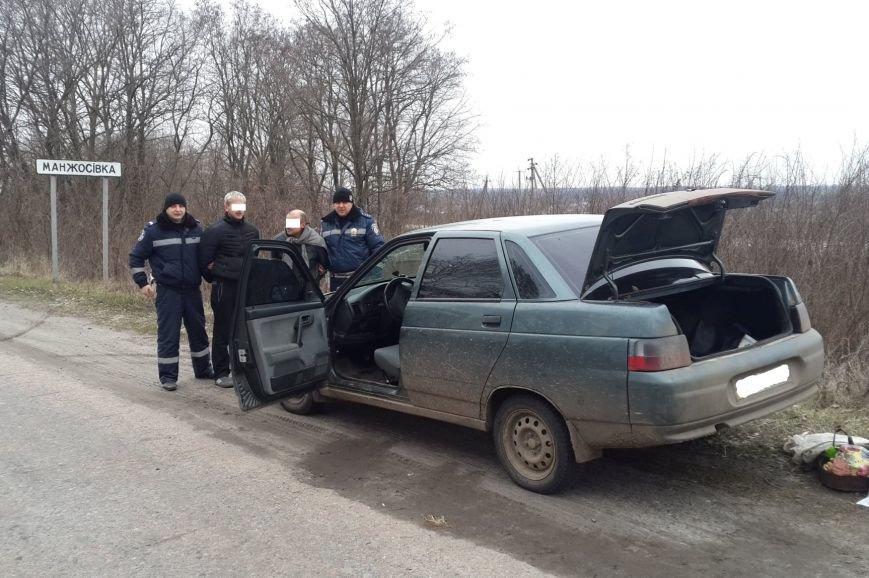 По черниговским дорогам ездил водитель-наркоман с взрывчаткой в салоне (фото) - фото 1