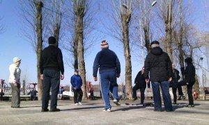 Тернополяни ходять на ранкову зарядку з чемпіонкою світу (фото) (фото) - фото 1