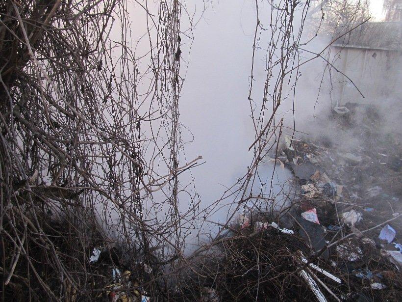 Небезпека посеред міста: палає білоцерківське сміття! (фото) - фото 2