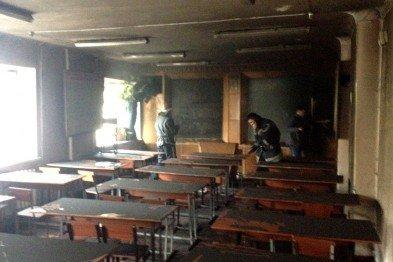 В Кривом Роге: горизбирком признал Вилкула мэром, несуществующее издание установило видеокамеры в ГИК, горела Металлургическая академия, фото-3