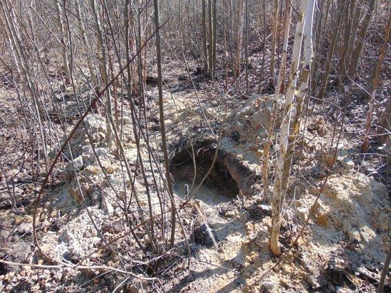В Овруцком районе мужчин выкопал около 30 метров кабеля (ФОТО) (фото) - фото 1
