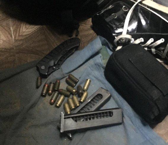 Как полиция задерживала бандита из Донецка, который устроил вооруженное ограбление в центре Днепропетровска (фото) - фото 3