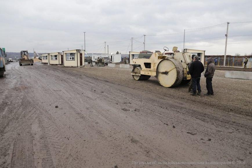 Губернатор Луганщины в Золотом осмотрел пропускной пункт и сделал анонс важного события (ФОТО), фото-2